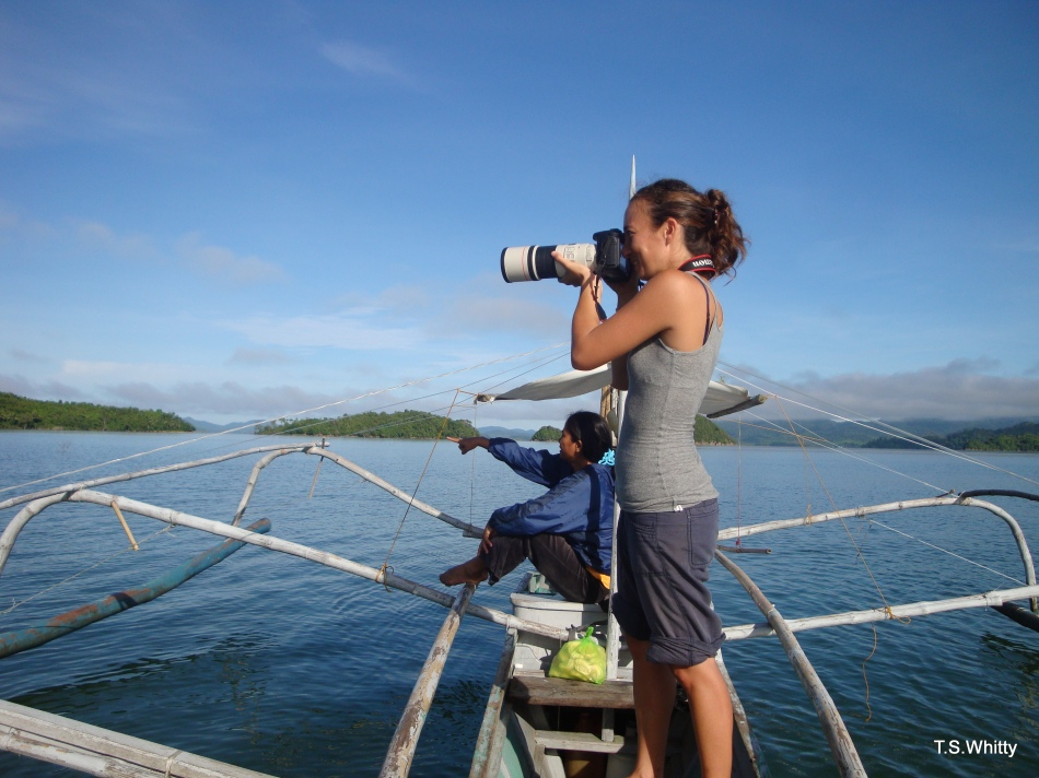 Capturing the lampasut in Malampaya Sound, Philippines